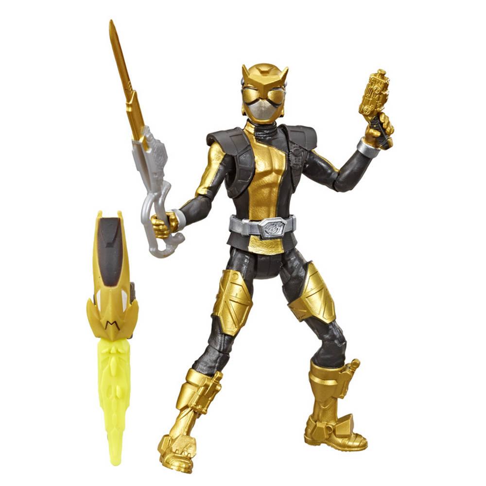 Power Rangers Beast Morphers figuur Gold Ranger - 15 cm
