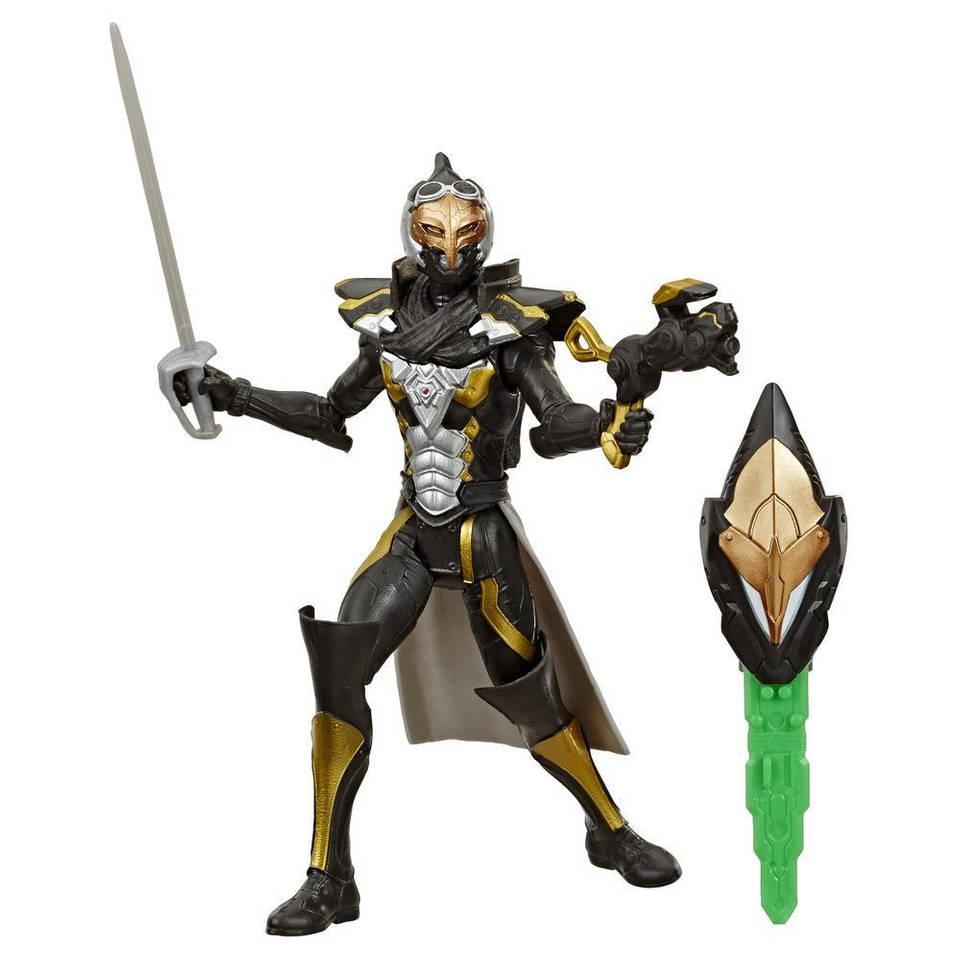 Power Rangers Beast-X Mode figuur Cybervillain Gold Blaze - 15 cm