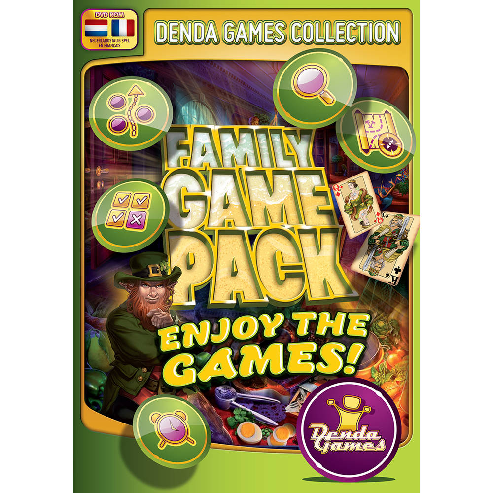 Family Game Pack: Enjoy The Games!