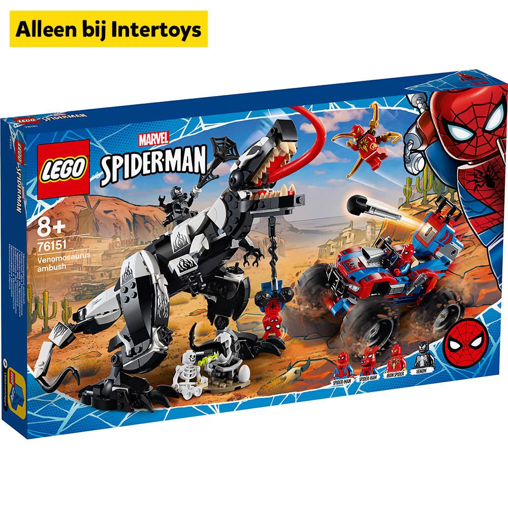 LEGO Marvel Super Heroes Venomosaurus hinderlaag 76151