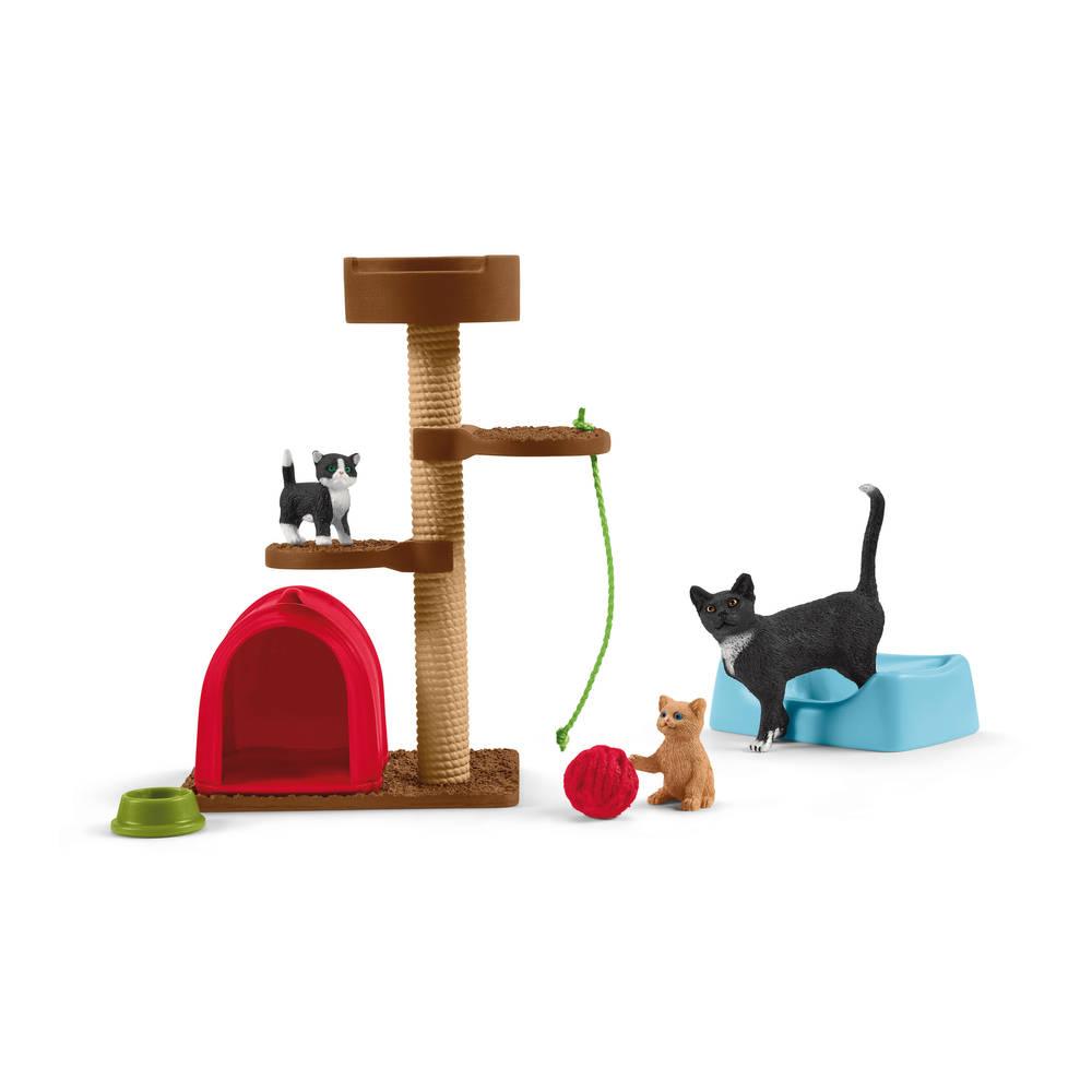 Schleich Farm World speeltijd voor schattige katten 42501