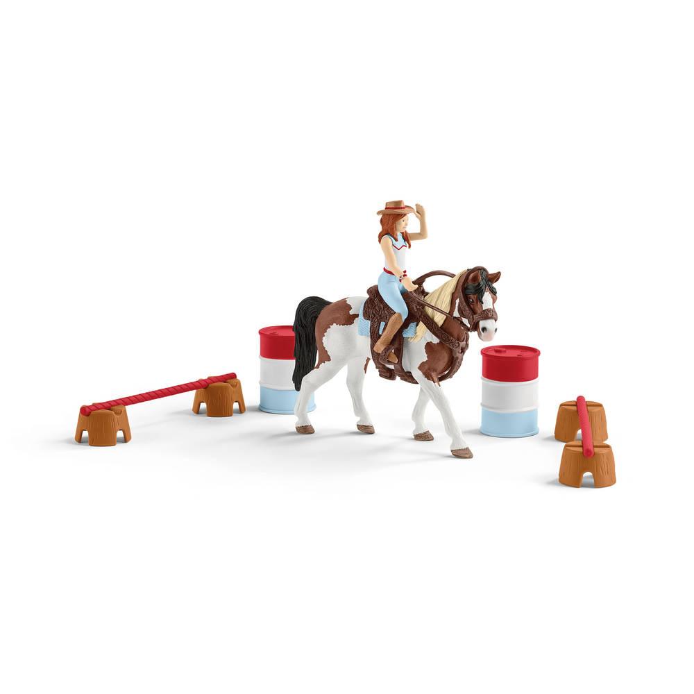 Schleich Horse Club Hannah's western paardrijset 42441