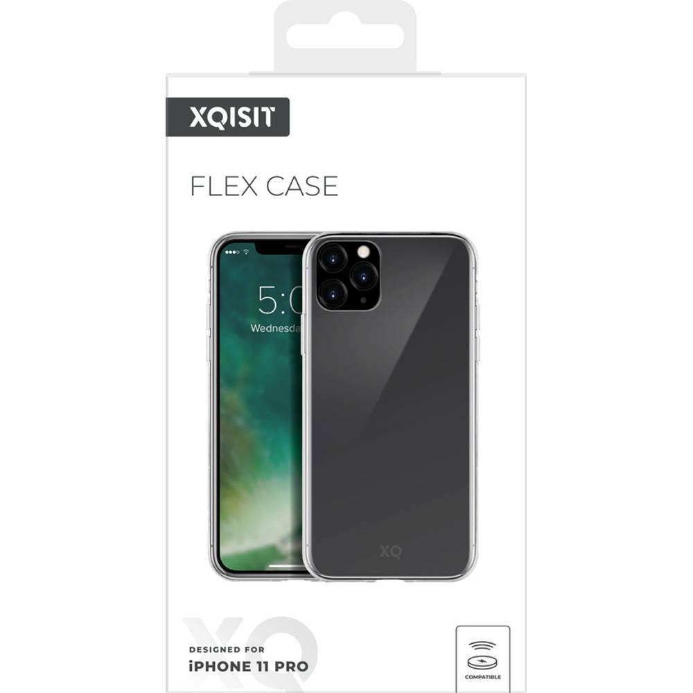Xqisit Flexcase voor iPhone 11 Pro - transparant