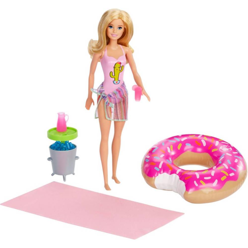 Barbie zwembadfeestje - blond
