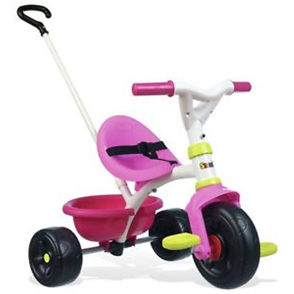 Smoby Be Fun driewieler - roze