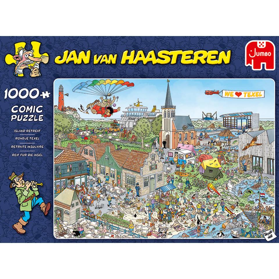 Jumbo Jan van Haasteren puzzel Texel - 1000 stukjes