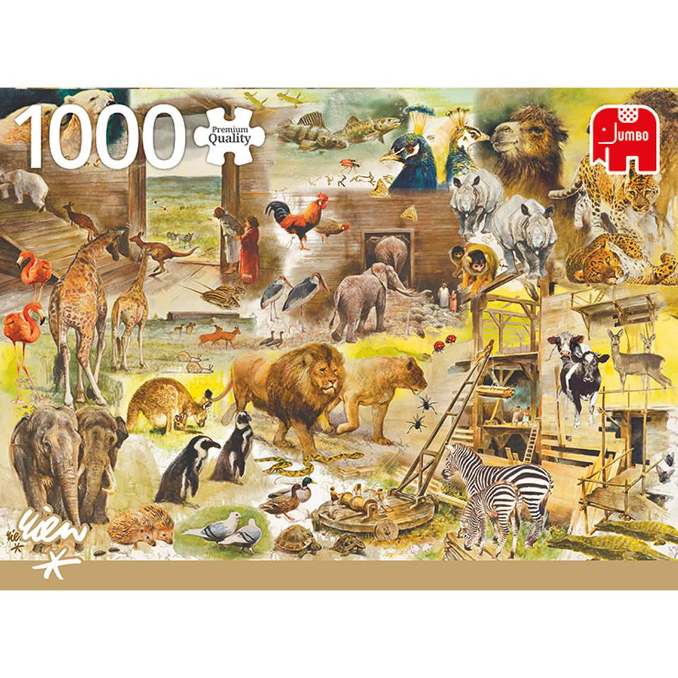 Jumbo Rien Poortvliet puzzel bouw van de ark van Noach - 1000 stukjes