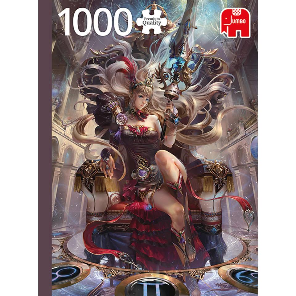 Jumbo puzzel zodiak koningin - 1000 stukjes