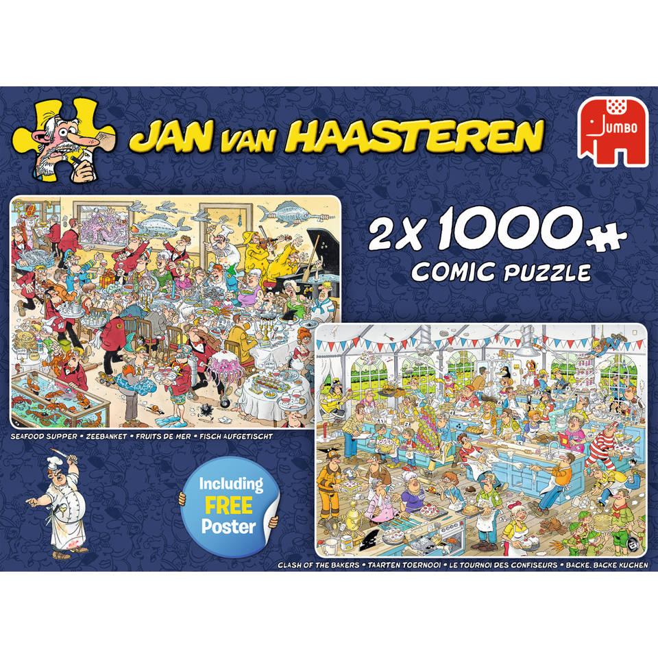 Jumbo Jan van Haasteren puzzels - 1000 stukjes
