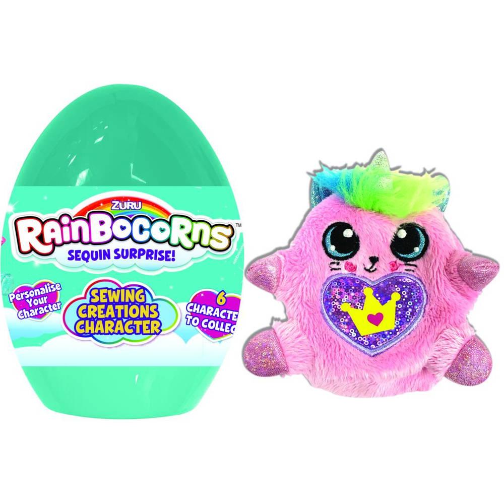 Rainbocorns karakter ontwerpen ei