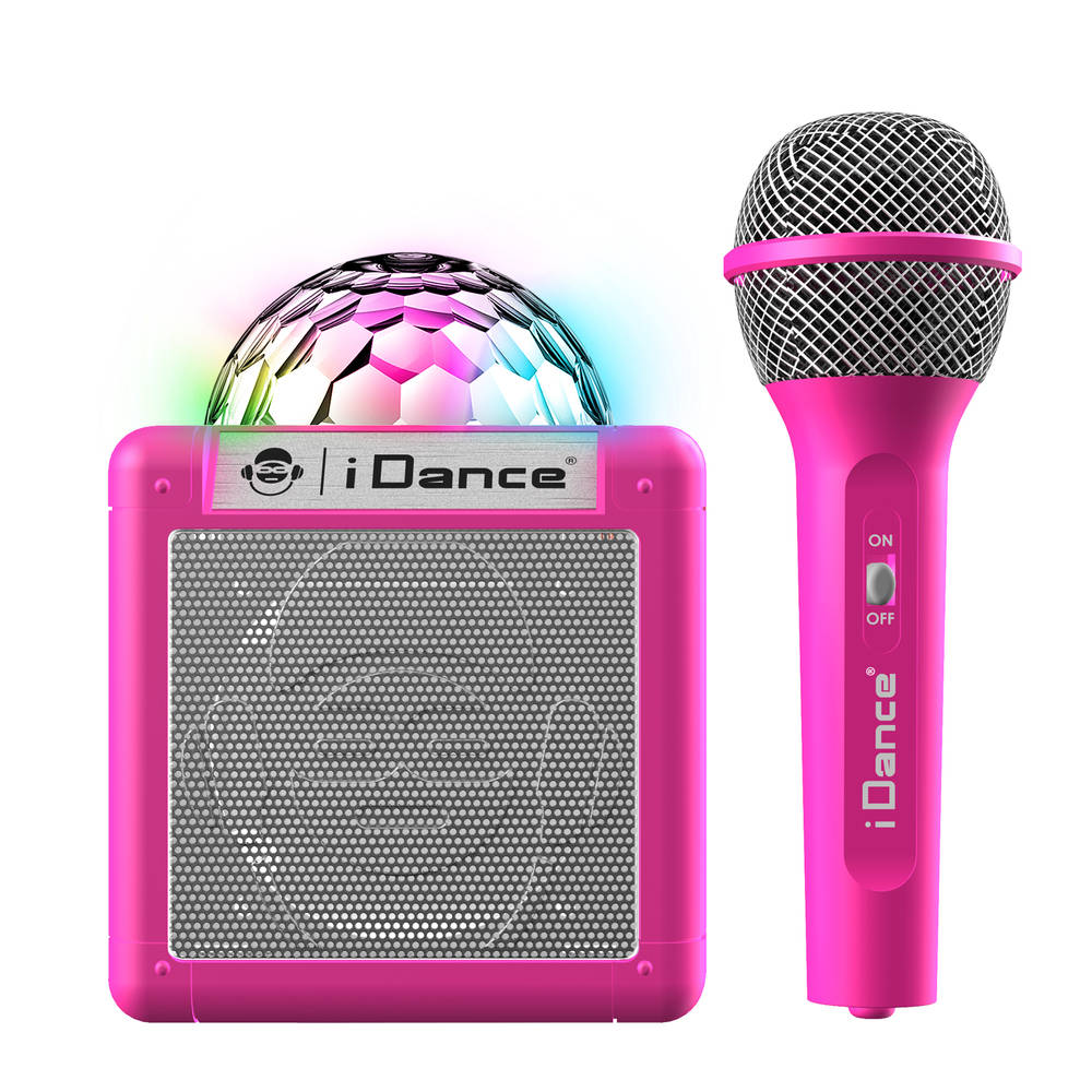 iDance party Bluetooth speaker met licht Sing Cube 100