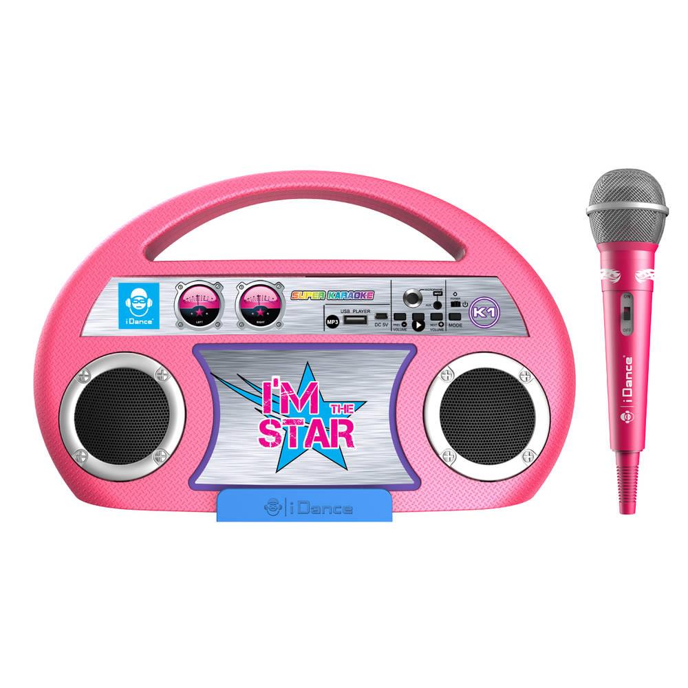 iDance 7-in-1 karaokemachine met Bluetooth
