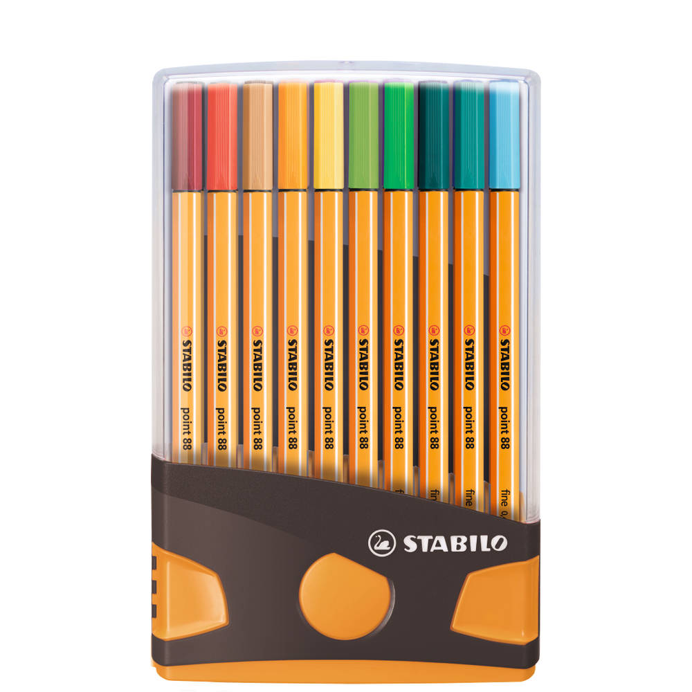 STABILO Point 88 fineliner set 20-delig