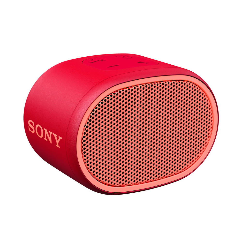 Sony SRS-XB01 draagbare bluetooth speaker met extra bass - rood