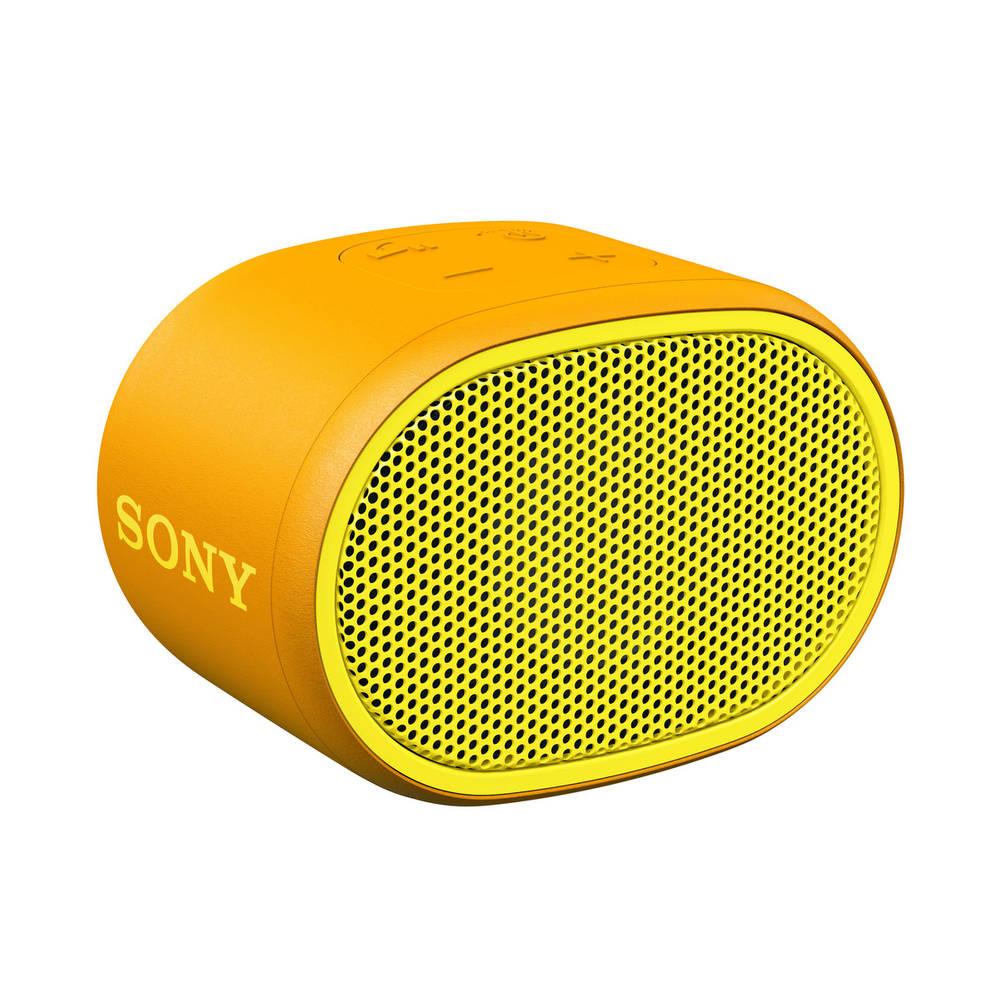 Sony SRS-XB01 draagbare bluetooth speaker met extra bass - geel
