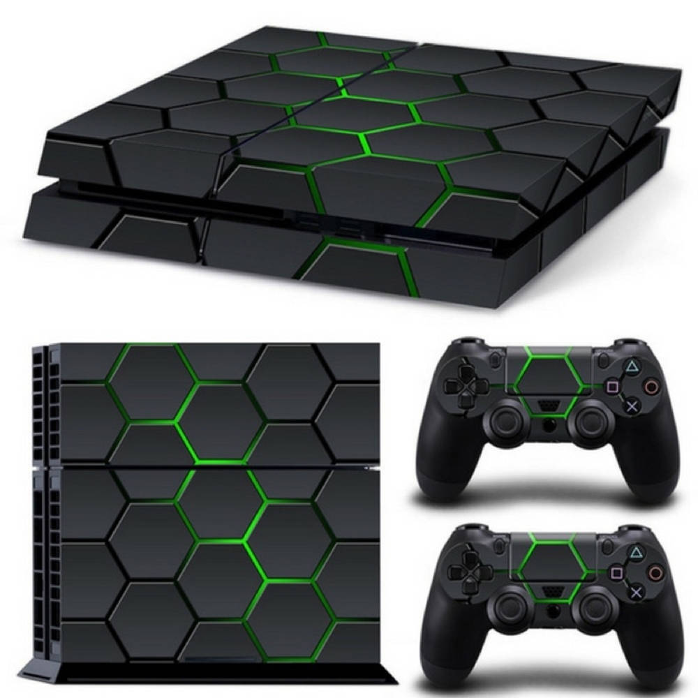 PS4 skin Hex Lime