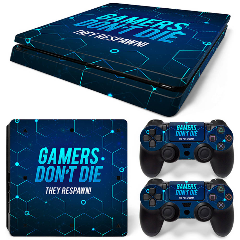 PS4 Slim skin Gamers