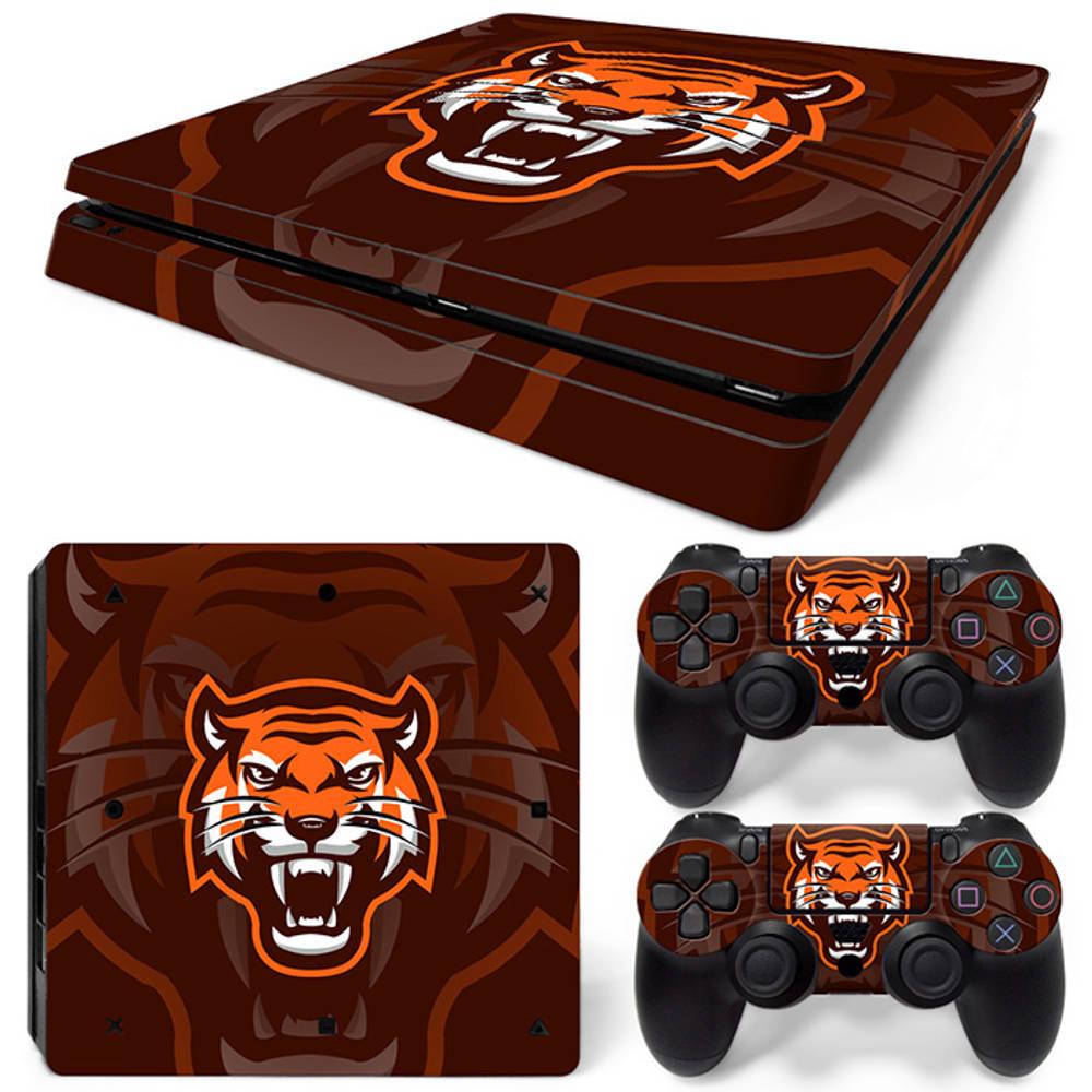 PS4 Slim skin Gamer Tiger