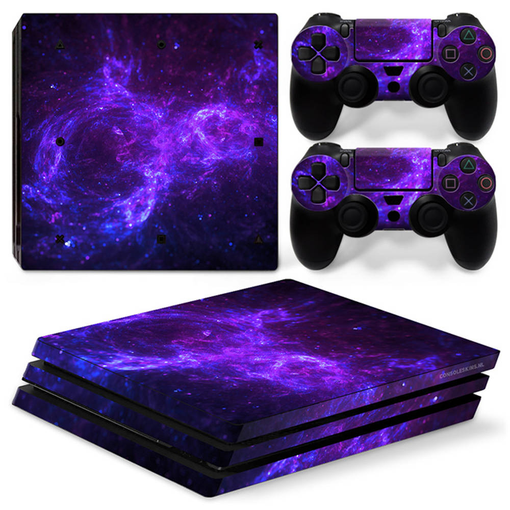 PS4 Pro skin Dark Galaxy