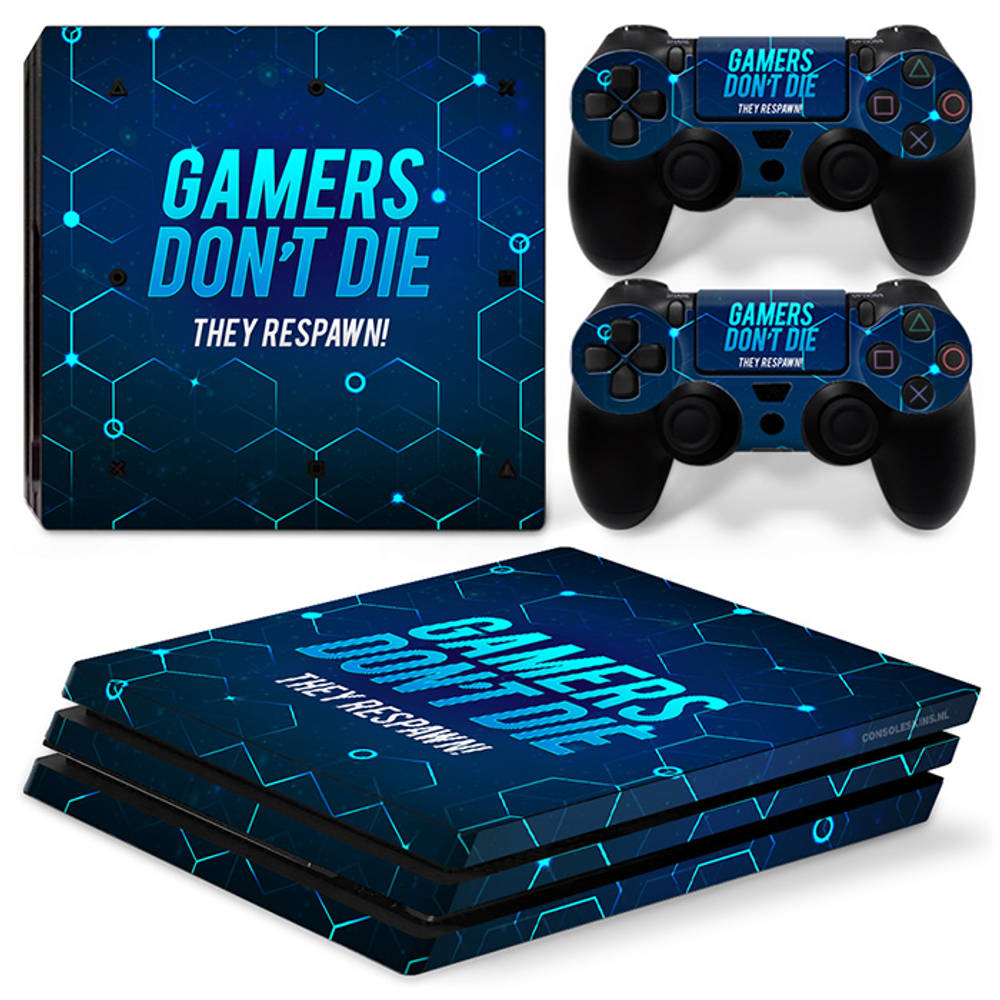 PS4 Pro skin Gamers