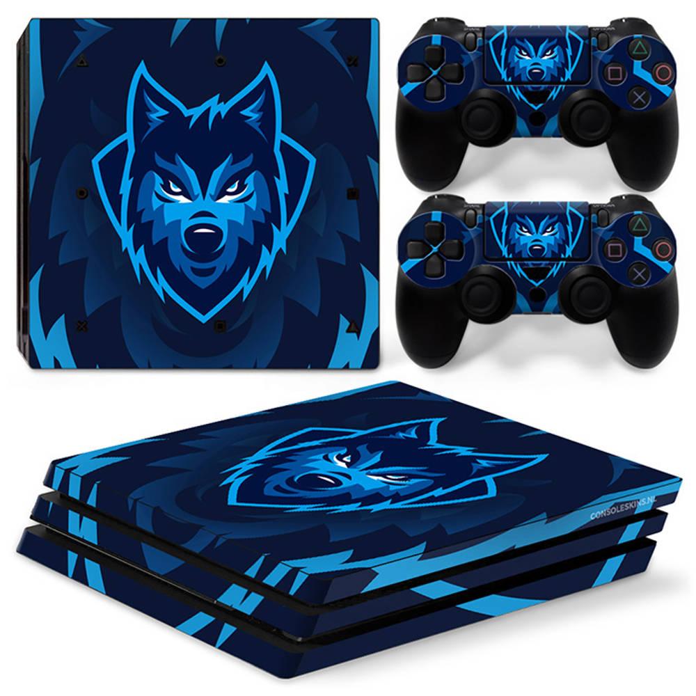 PS4 Pro skin Gamer Wolf
