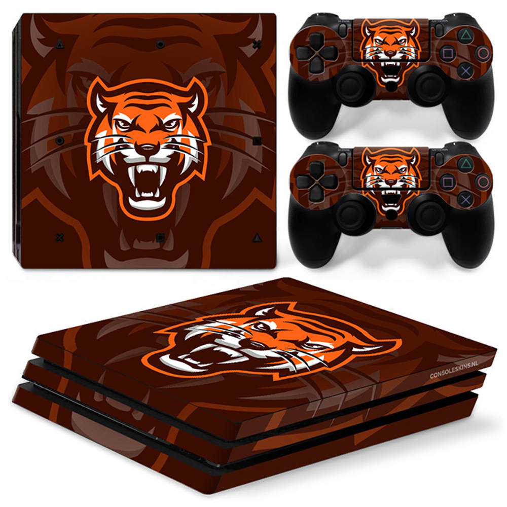 PS4 Pro skin Gamer Tiger