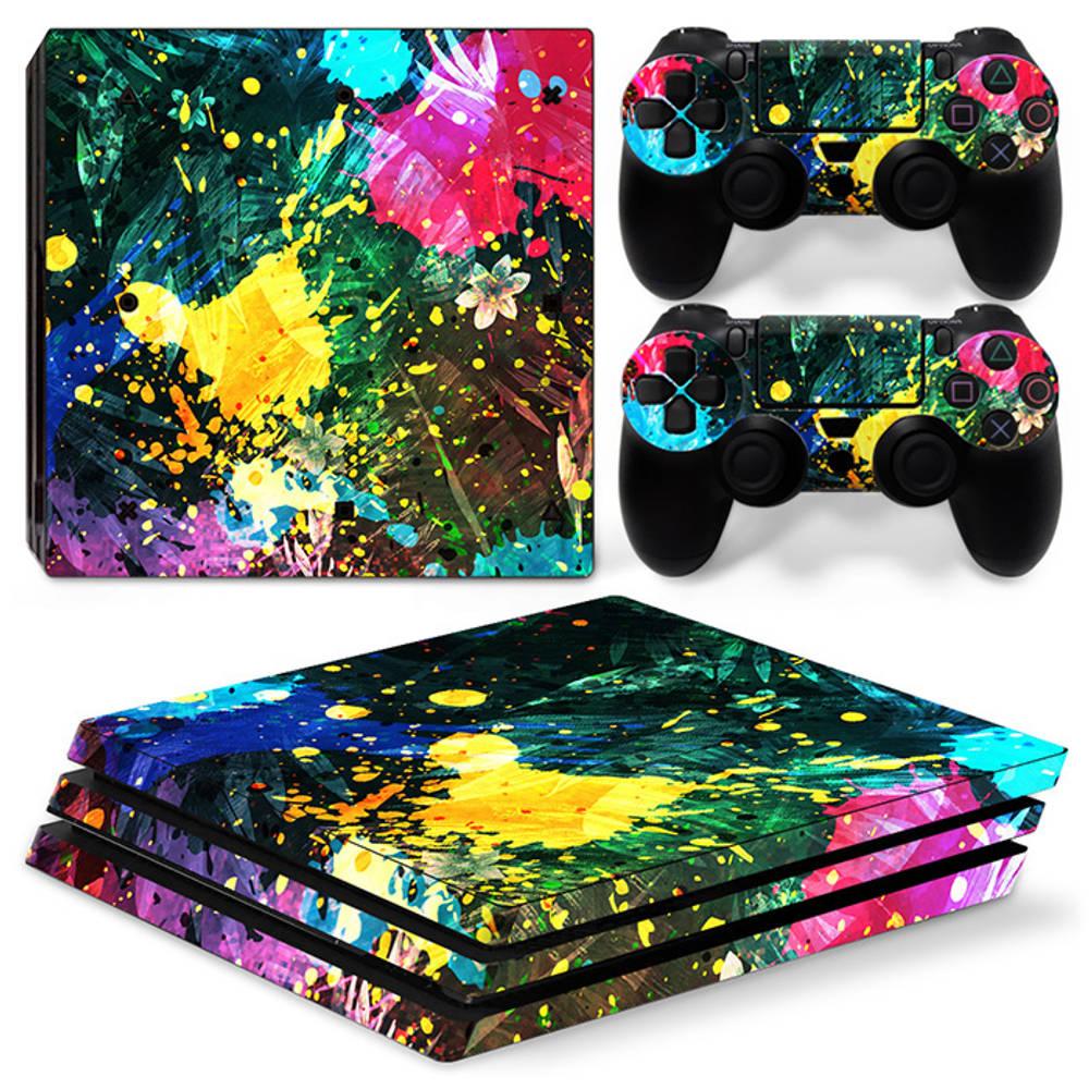 PS4 Pro skin Color Splash
