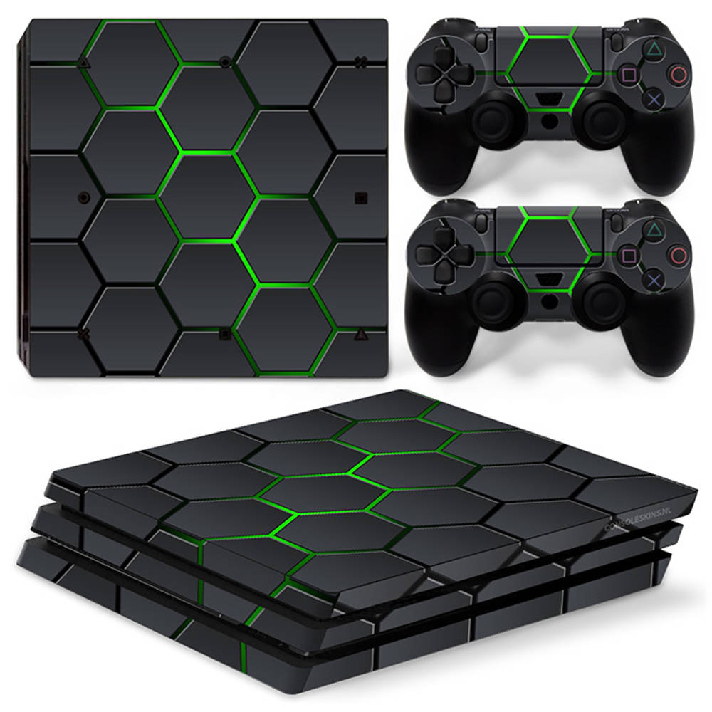 PS4 Pro skin Hex Lime