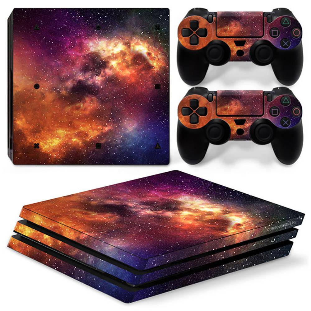 PS4 Pro skin Starry Sky