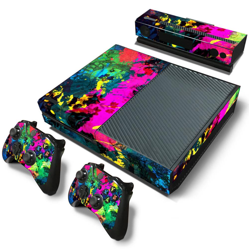 Xbox One skin Color Splash