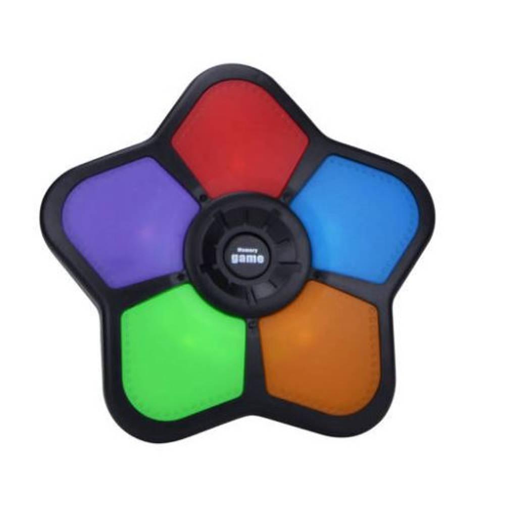 Geheugenspel vijf kleuren spelconsole