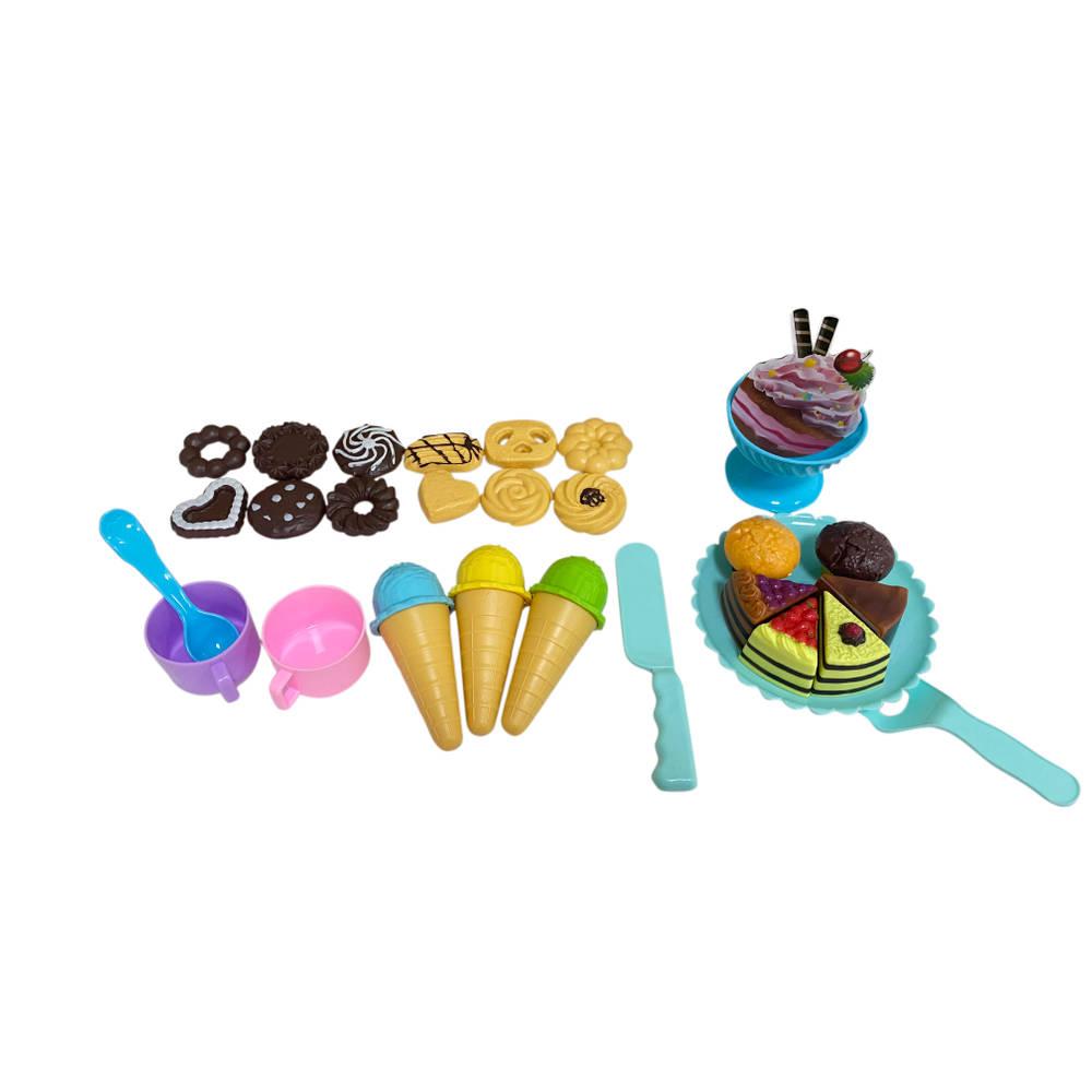 Cake toetjes set 32-delig