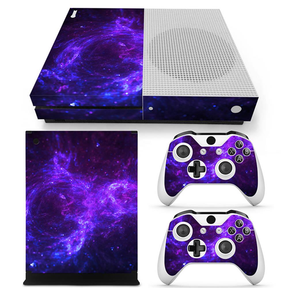 Xbox One S skin Dark Galaxy