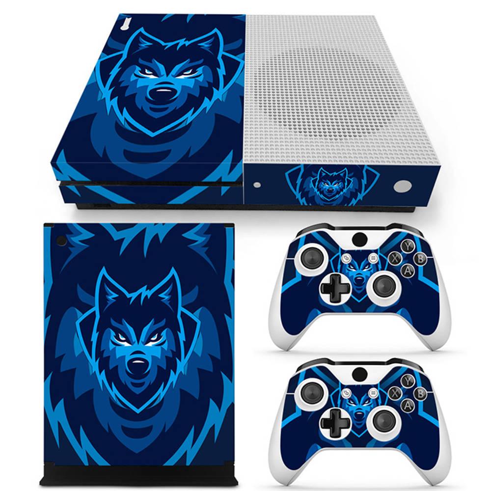 Xbox One S skin Gamer Wolf