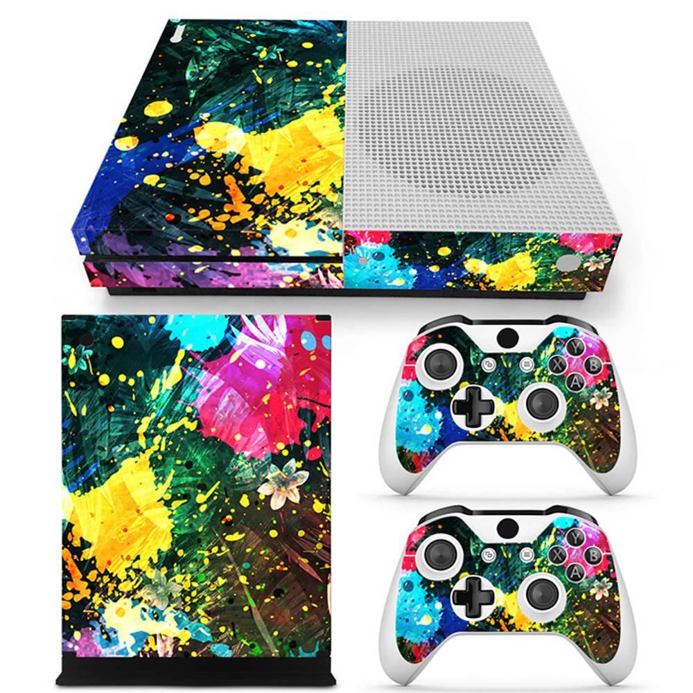 Xbox One S skin Color Splash