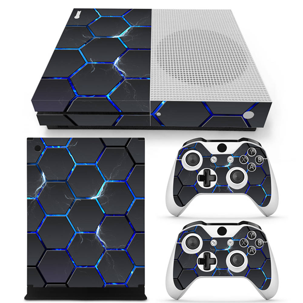 Xbox One S skin Hex Lightning