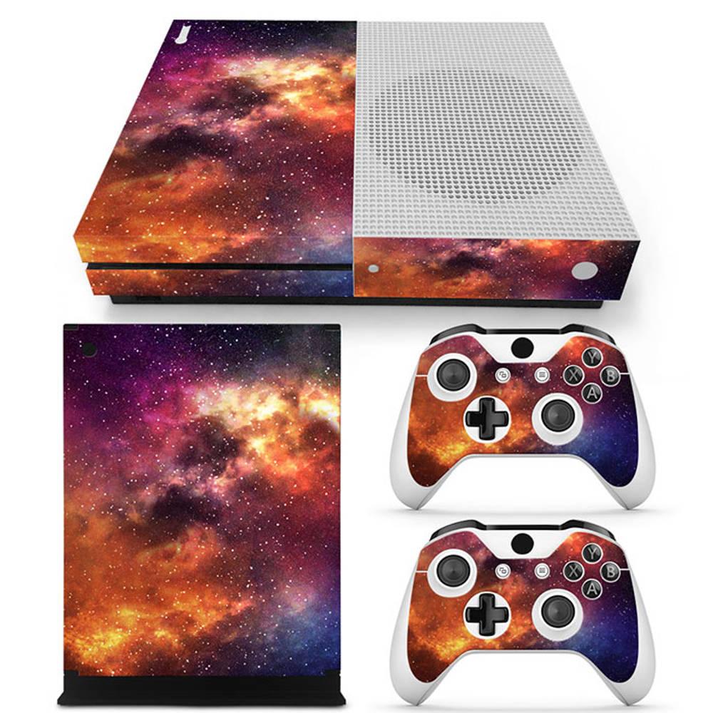 Xbox One S skin Starry Sky