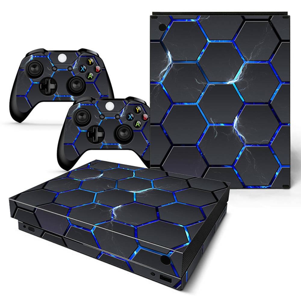 Xbox One X skin Hex Lightning