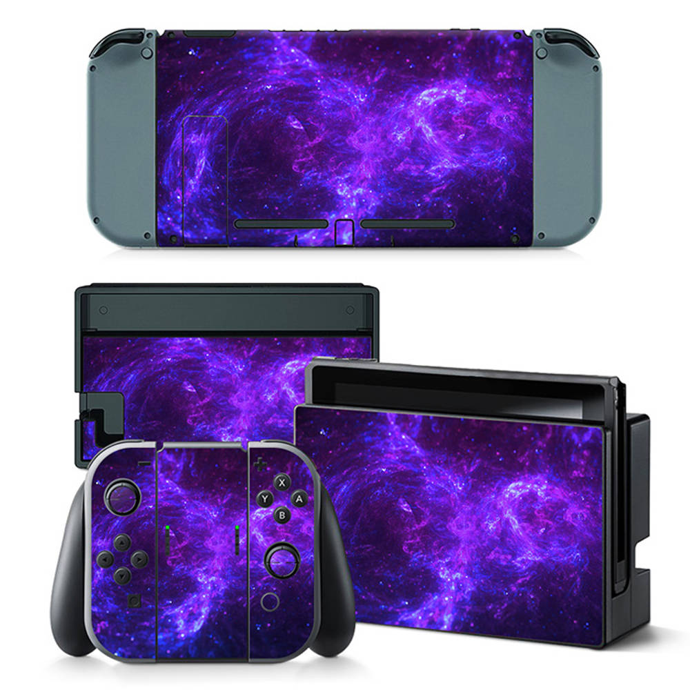 Nintendo Switch skin Dark Galaxy