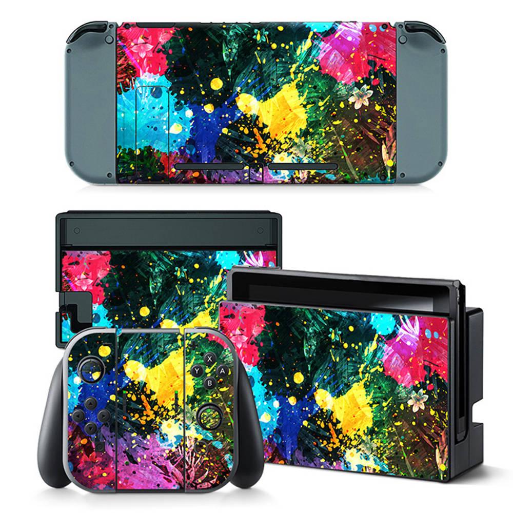 Nintendo Switch skin Color Splash