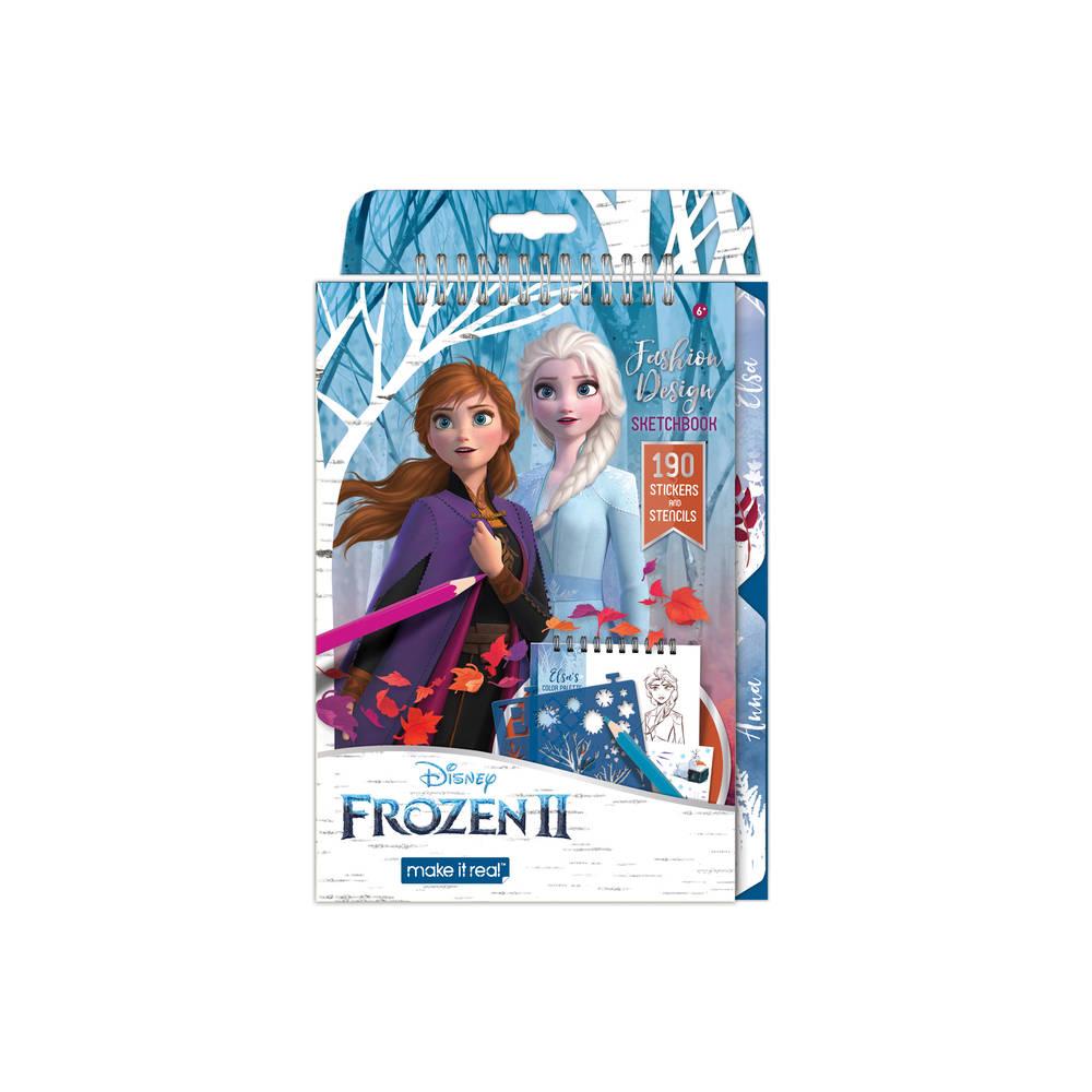 Make it Real Disney Frozen 2 Fashion Design sketchboek