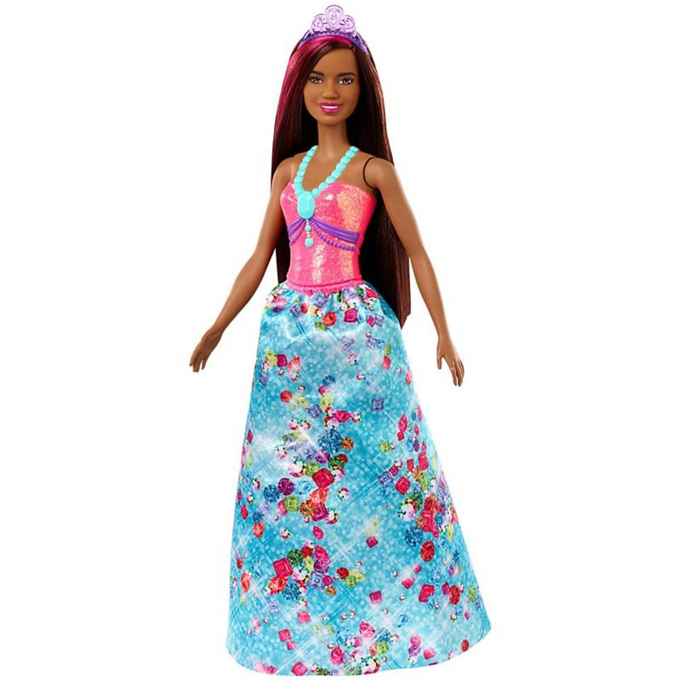 Barbie Dreamtopia prinses met zwart haar