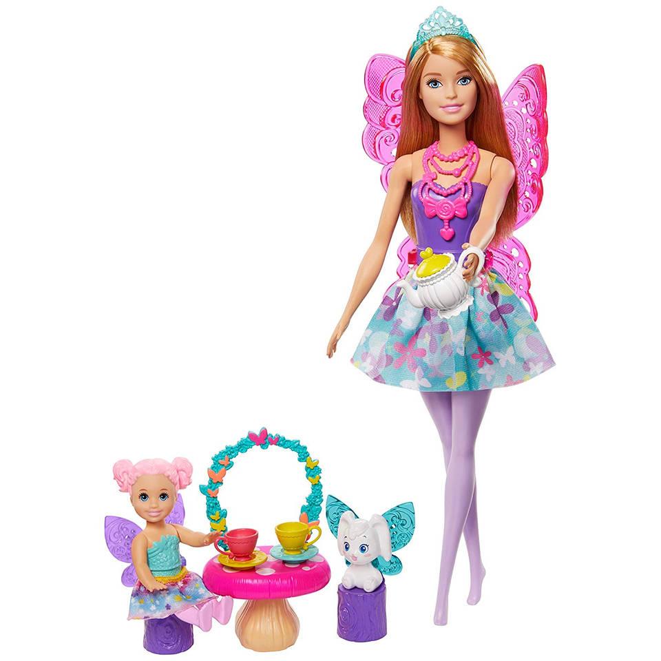 Barbie Dreamtopia feeën theekransje speelset