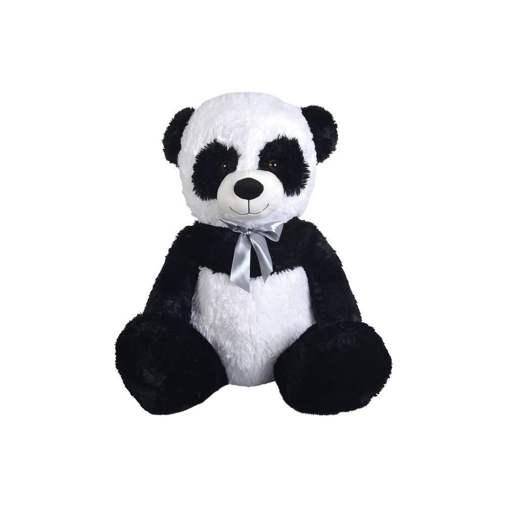 Pluchen zittende panda - 55 cm