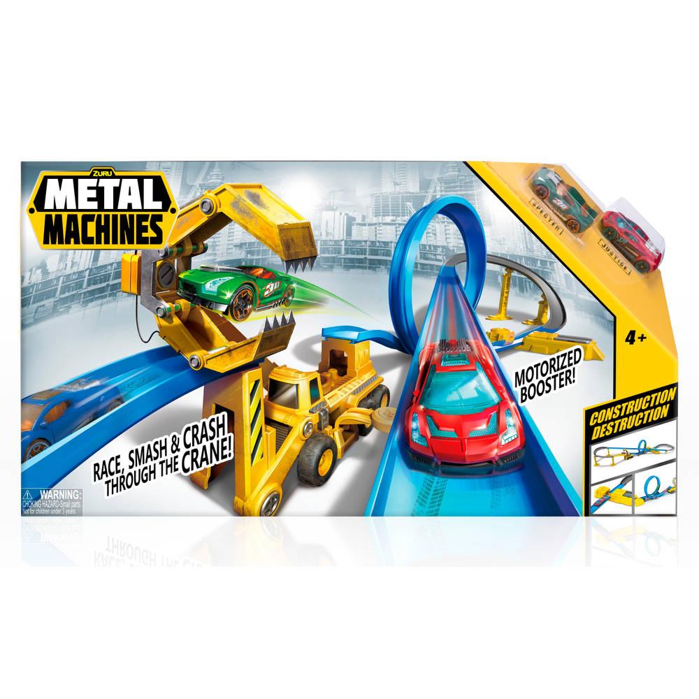 Metal Machines Construction Destruction racebaan