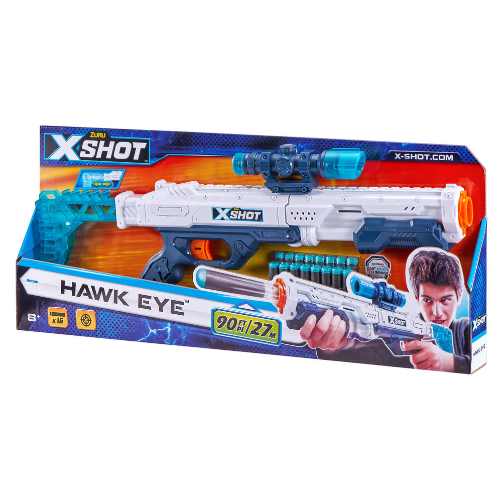 Zuru X-Shot Excel Hawk Eye blaster