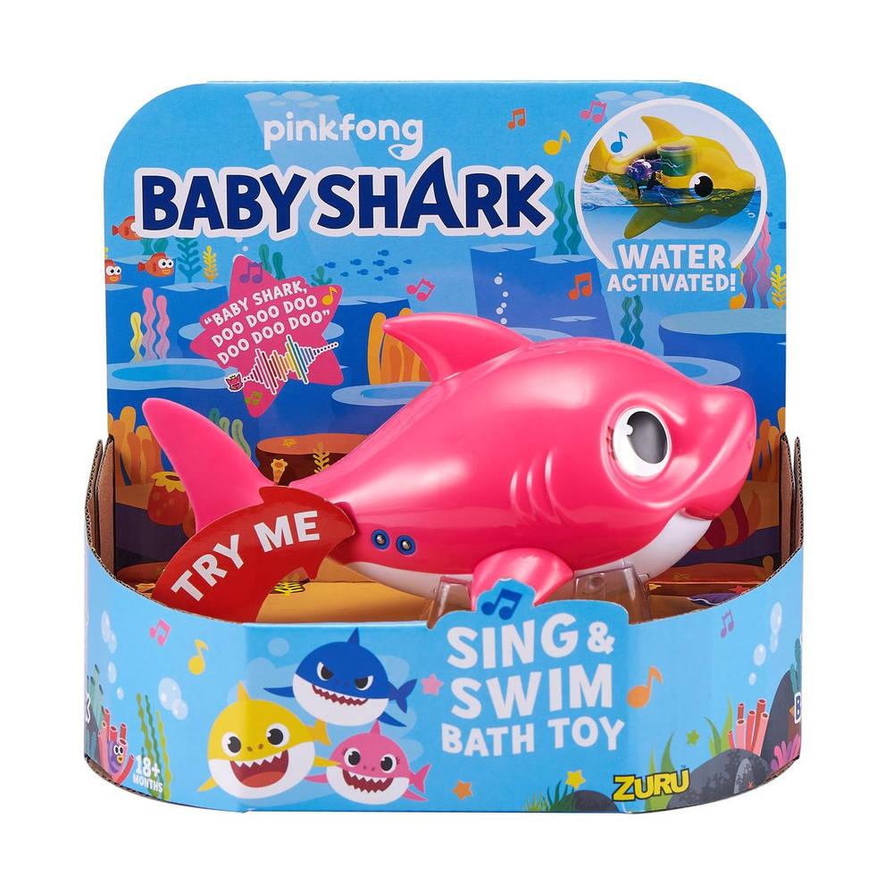 Robo Alive Baby Shark zwem en zing speelgoed