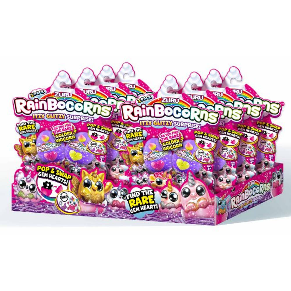 Rainbocorns speelfiguren Itzy Glitzy Surprise 2-pack