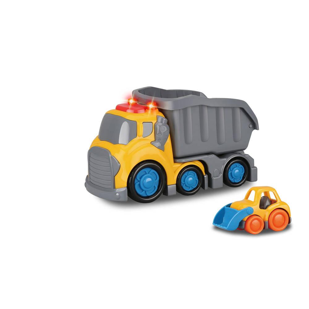 Free wheel dump truck met licht en geluid