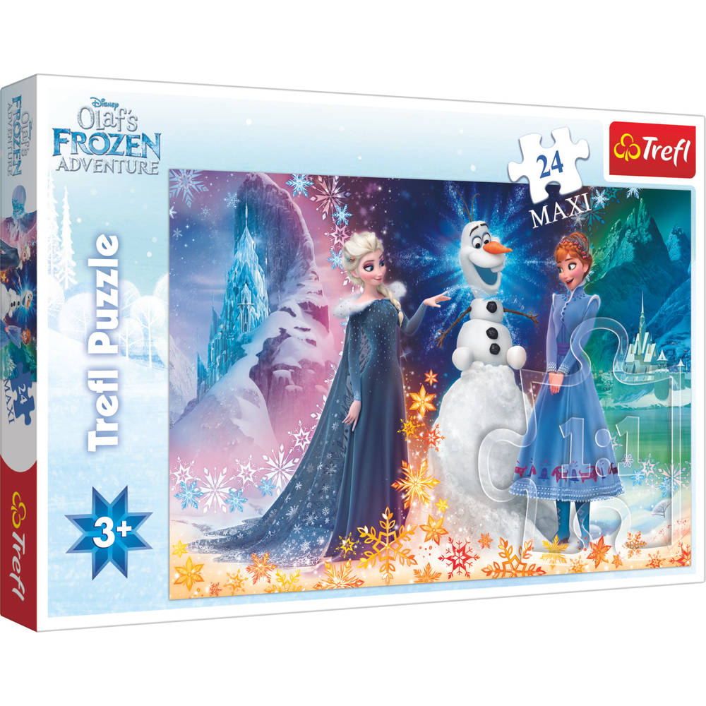 Disney Frozen maxipuzzel - 24 stukjes